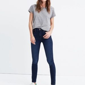 """Madewell 10"""" High-Rise Jeans in Hayes Wash Petite"""